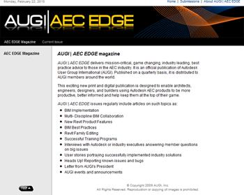 AUGI|AEC Edge Website