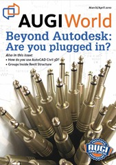 AUGIWorld March/April 2010 Cover