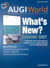 Front cover of AUGIWorld magazine - March/April 2006 issue