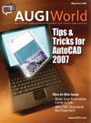 Front cover of AUGIWorld magazine - May/June 2006 issue