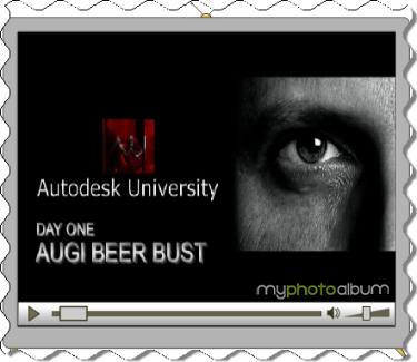 AUGI Beer Bust at Autodesk University 20007