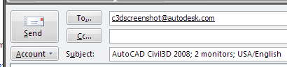 AutoCAD Civil 3D ScreenShot